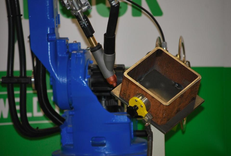 Robotiserad pulverbågsvetsning